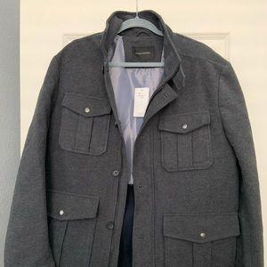 Gray Banana Republic men's jacket